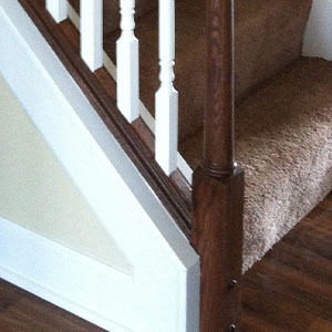 Closed Stairs W/ Knee Wall